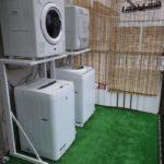 リバ邸ゲーミング船橋:洗濯機